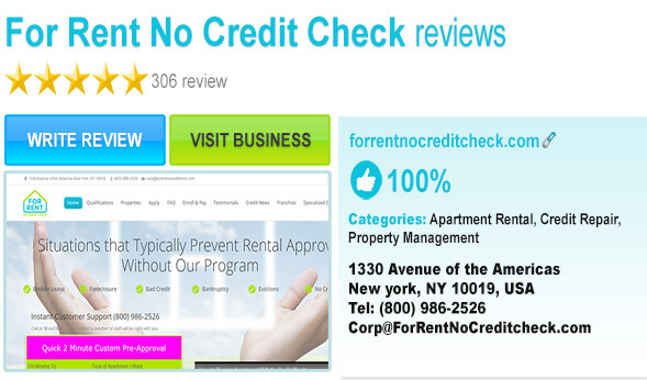 Check Out For Rent No Credit On Yelp