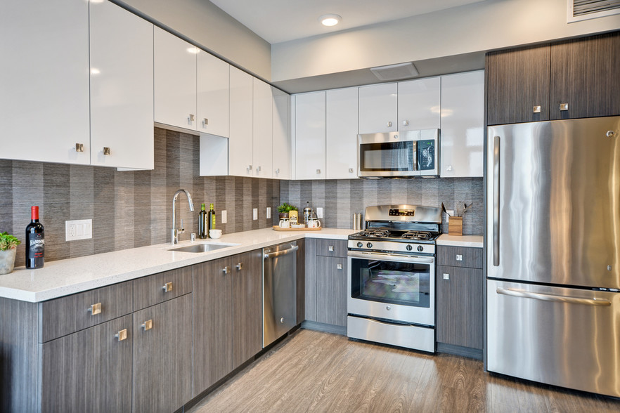 quartz countertops in your new apartment